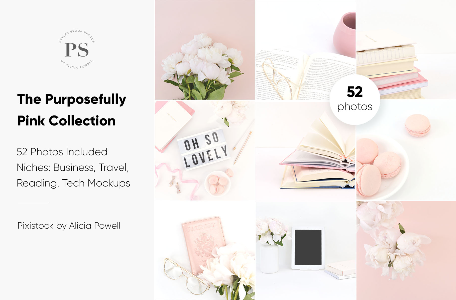 Purposefully Pink Stock Photo Collection