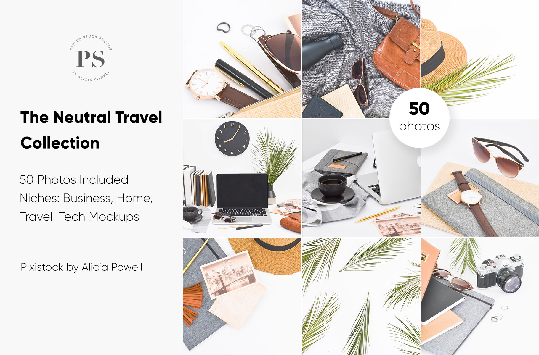 Neutral Travel Desktop Collection