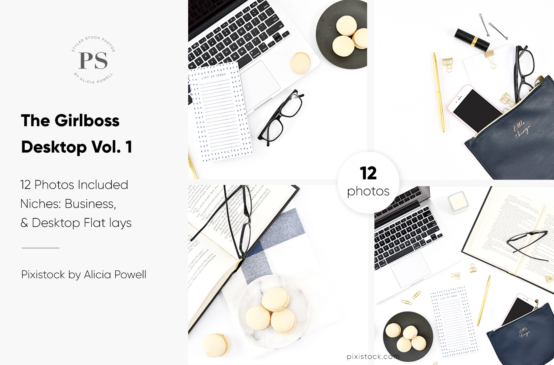 Girl Boss Desktop Collection Vol. 1