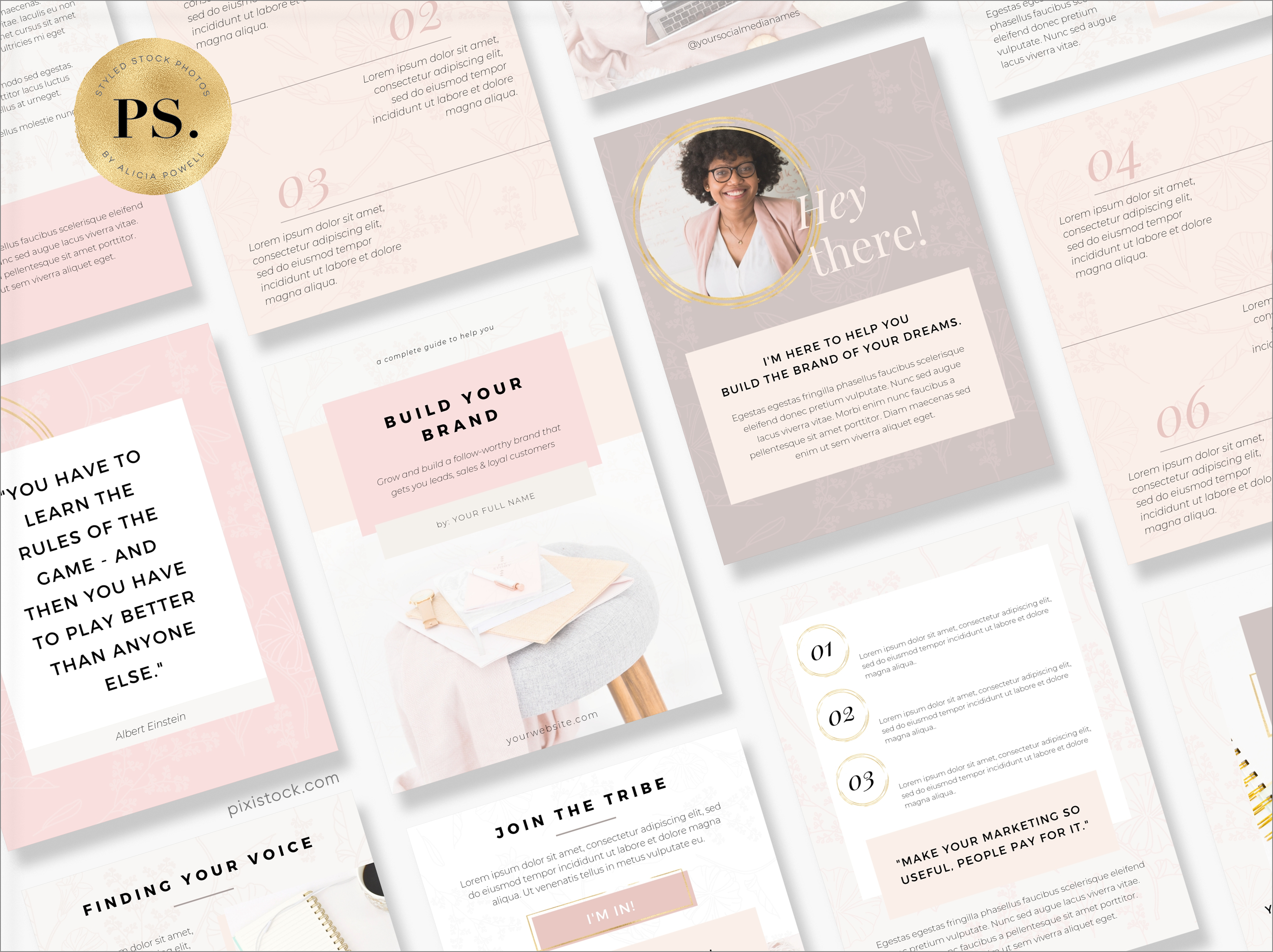 Canva Template Ebook by Pixistock - The Lovely Business
