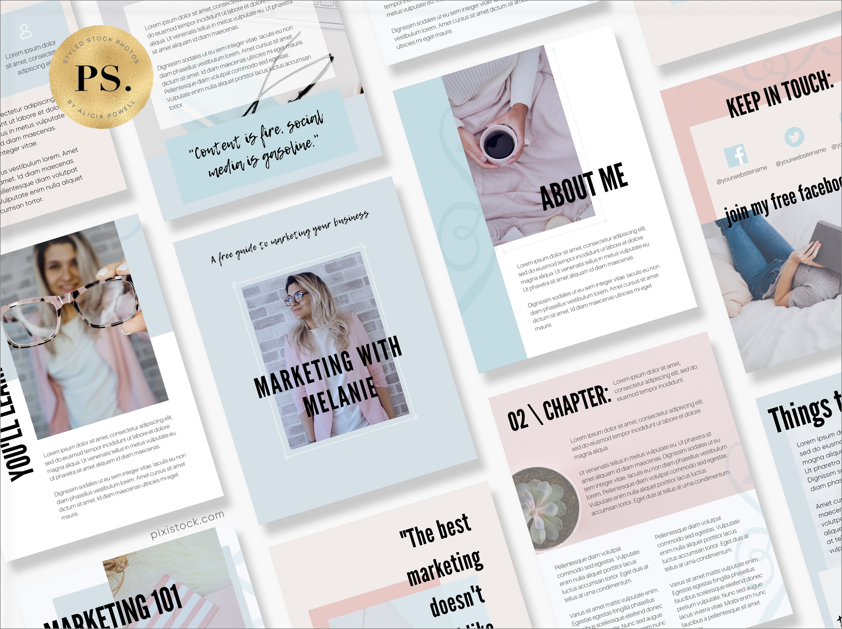 Canva Template Ebook by Pixistock - The Confident Business
